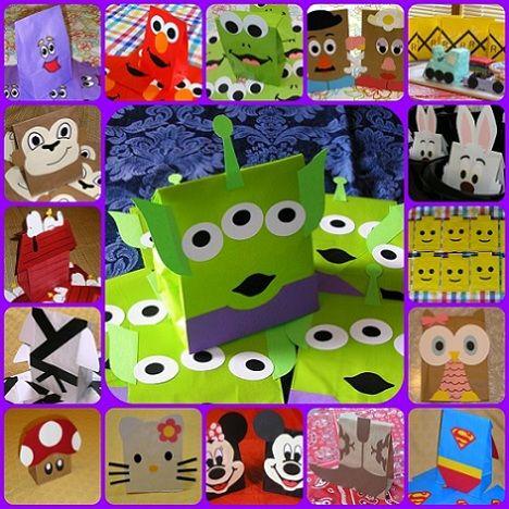 Bolsitas de cumpleaños de toy story - Imagui