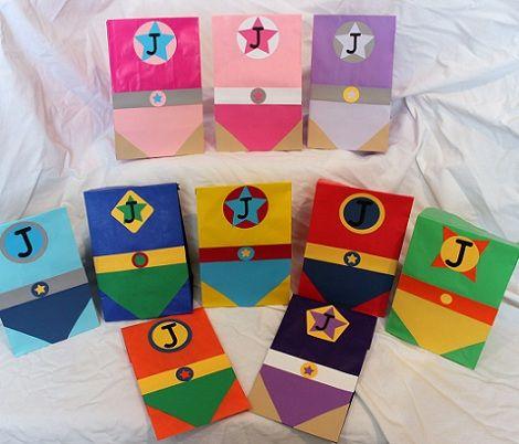 Ideas para tus bolsas de cumpleaños caseras