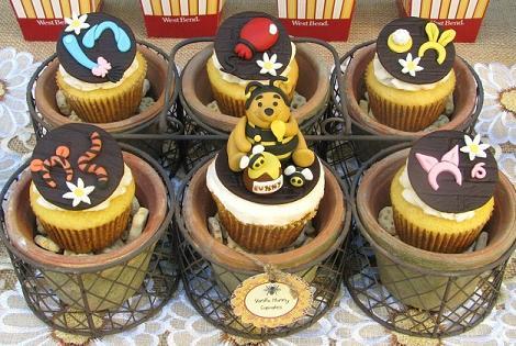 Cupcakes Winnie the Pooh
