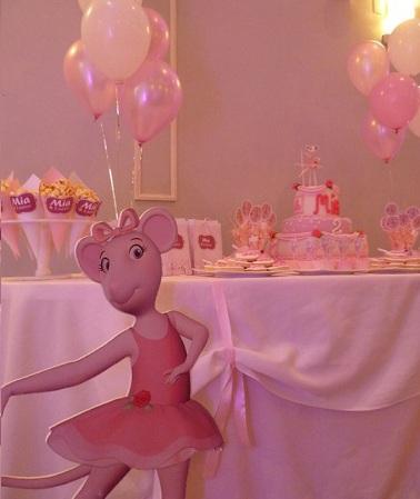 fiesta angelina ballerina mesa