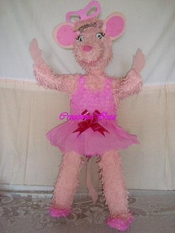 fiesta angelina ballerina pinata