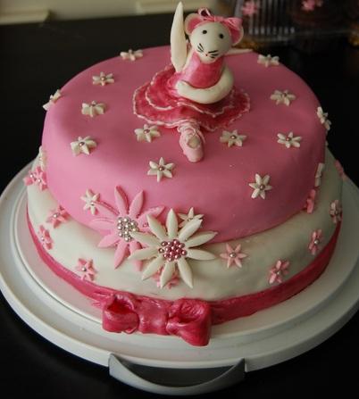 fiesta angelina ballerina tarta