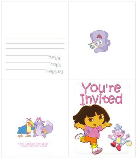 Invitación Dora