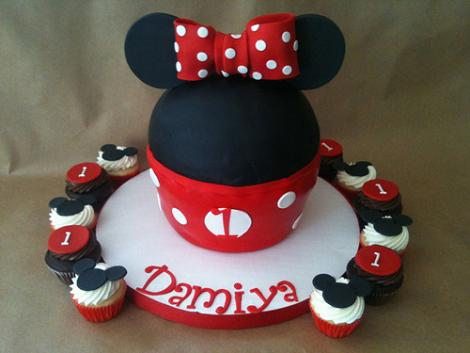 Tarta Disney Minnie