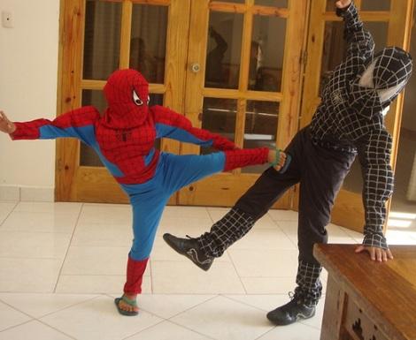 cumpleaños spiderman disfraz