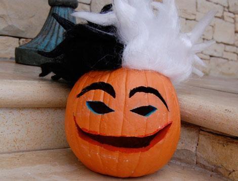 decoración halloween calabaza