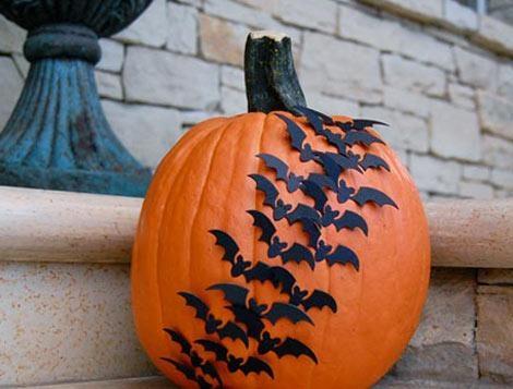 decoracion halloween murciélagos