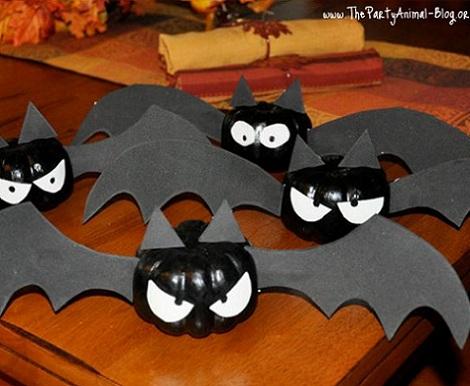 ideas fiesta halloween murcielagos