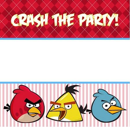 invitaciones cumpleaños angry bidrs vertical