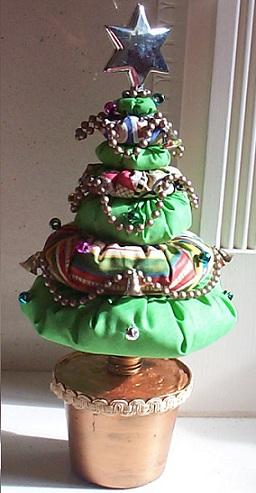 gallery of ideas para navidad un rbol casero with arbol de navidad en tela - Arbol De Navidad De Tela