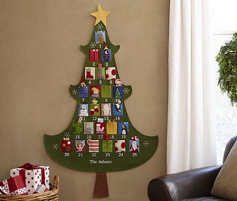 calendario navidad arbol