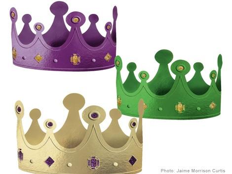coronas niños cartulina