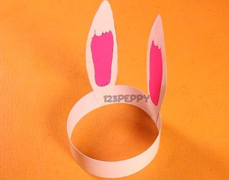 coronas niños conejo