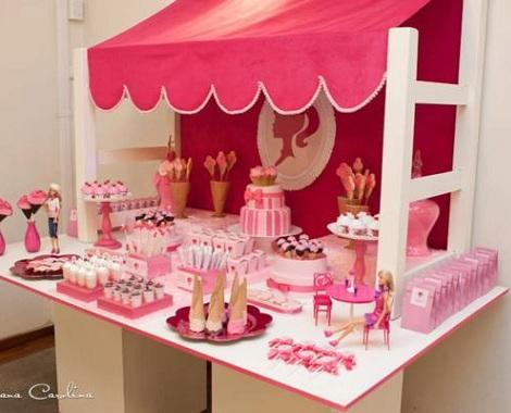 Cumpleaños con motivo de barbie - Imagui