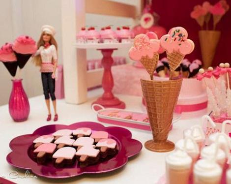 fiesta barbie postres