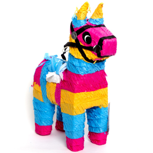 Pi atas para fiestas infantiles for Decoracion de pinatas infantiles