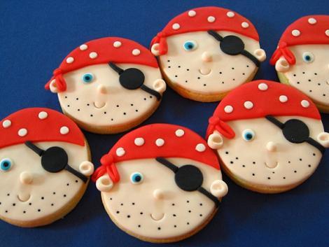 Piratas en galletas