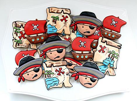Galletas de piratas para niños