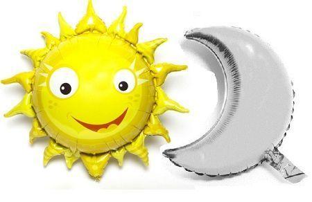decoracion globos sol