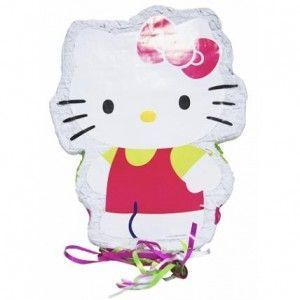 piñatas infantiles hello kitty