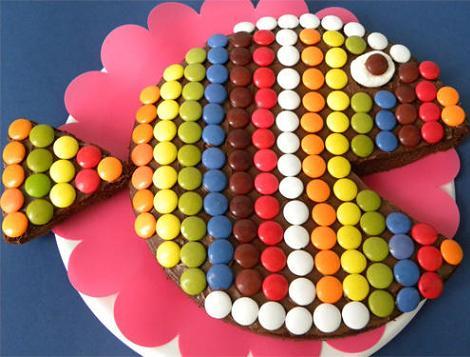 tartas infantiles cumpleanos pez