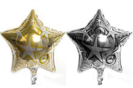 decoracion globos estrella