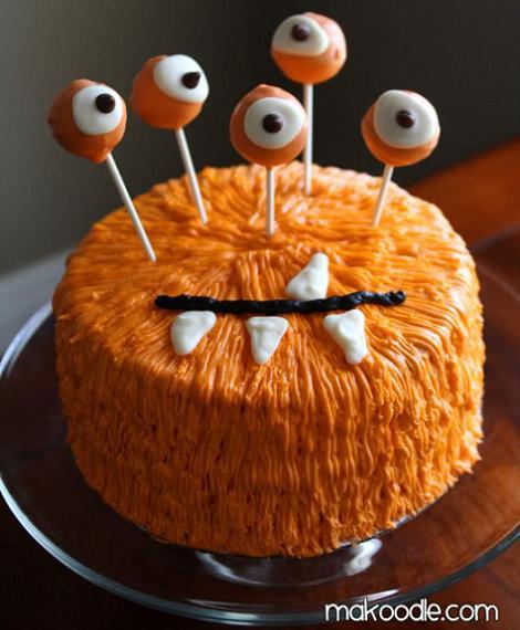 decoracion tarta infantiles mounstro