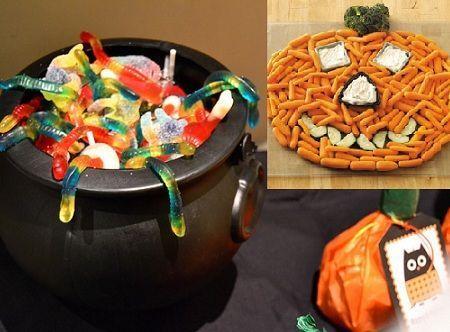 fiesta halloween gominolas