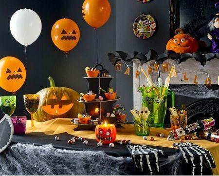 fiesta halloween mesa