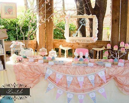 fiesta jardin secreto mesa