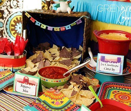 Fiesta de cumplea os mexicana - Comidas para cumpleanos en casa ...