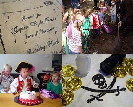 fiesta pirata tesoro