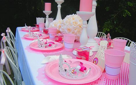 fiesta princesas mesa