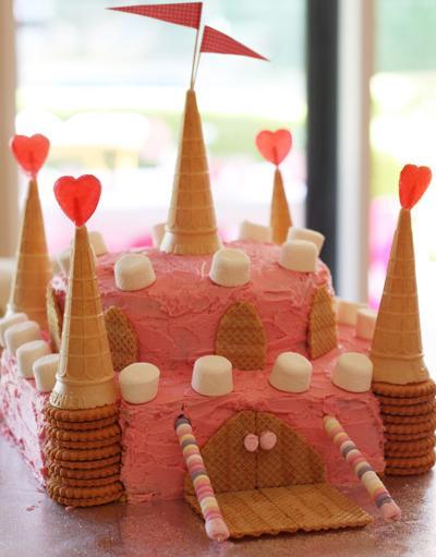 fiesta princesas tarta