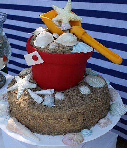 fiestas infantiles marineros tarta