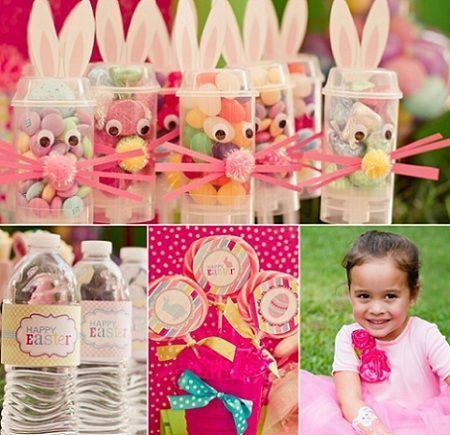 Ideas para preparar una fiesta de pascua infantil - Ideas para decorar mesas de chuches ...