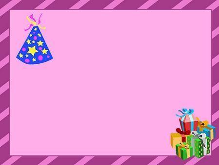 invitaciones cumpleanos rosa