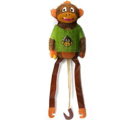 pinatas infantiles mono