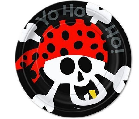 platos fiestas pirata