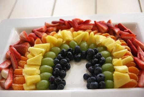 recetas fiestas infantiles frutas