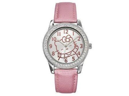 reloj kitty correa piel rosa