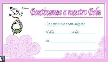 tarjetas bautizo pequena
