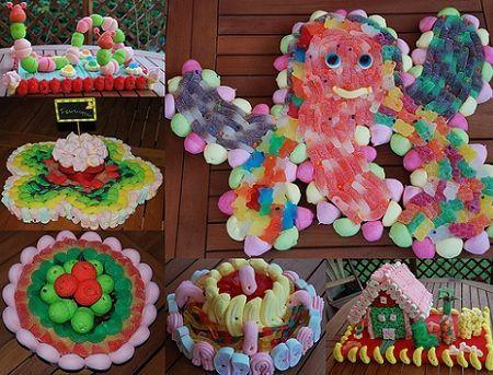 tartas gominolas variadas