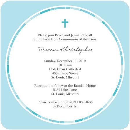 5 invitaciones comunion originales redonda