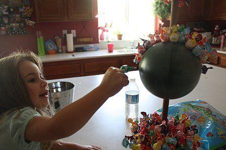 arbol caramelos esfera