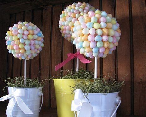 arbol caramelos topiary