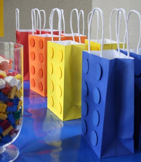 bolsas fiestas infantiles lego
