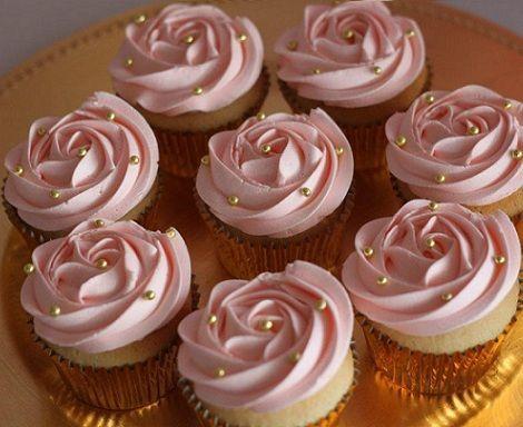 cumpleanos princesa mesa cupcakes
