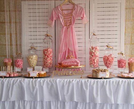 cumpleanos princesa mesa dulces