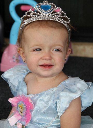 cumpleanos princesa nina disfraz